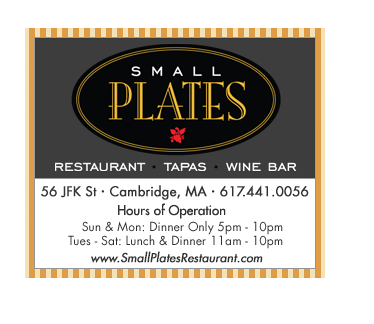 small plates banner